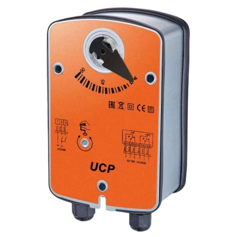 Электропривод  с возвратной пружиной UB (230)-05 (для противопожарных клапанов)