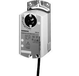 Эл.привод воздушной заслонки Siemens GLB 331.1E (10 Нм), 230В, 3-х позиционный