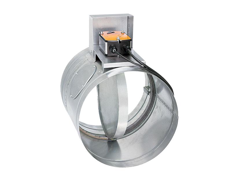 Клапан КПС-1(60)-НО-МВ(220)-ф160