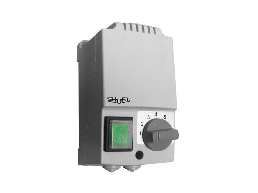 Регулятор скорости 5-ти ступенчатый с термозащитой SRE-E-5,0-T