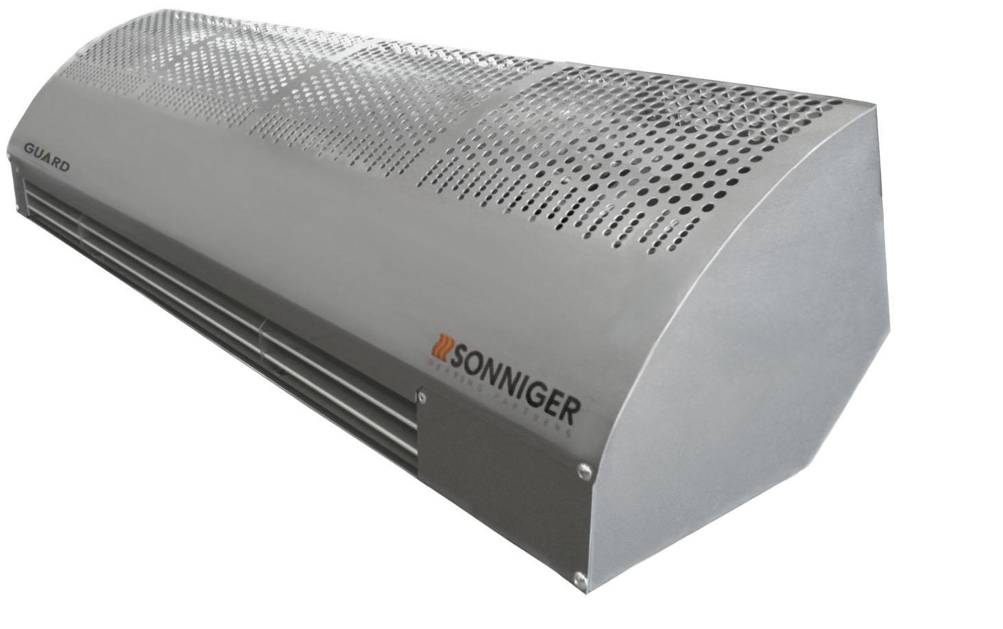 Электрическая тепловая завеса со встр. вентилятором мод. GUARD 100E (3-6 кВт)