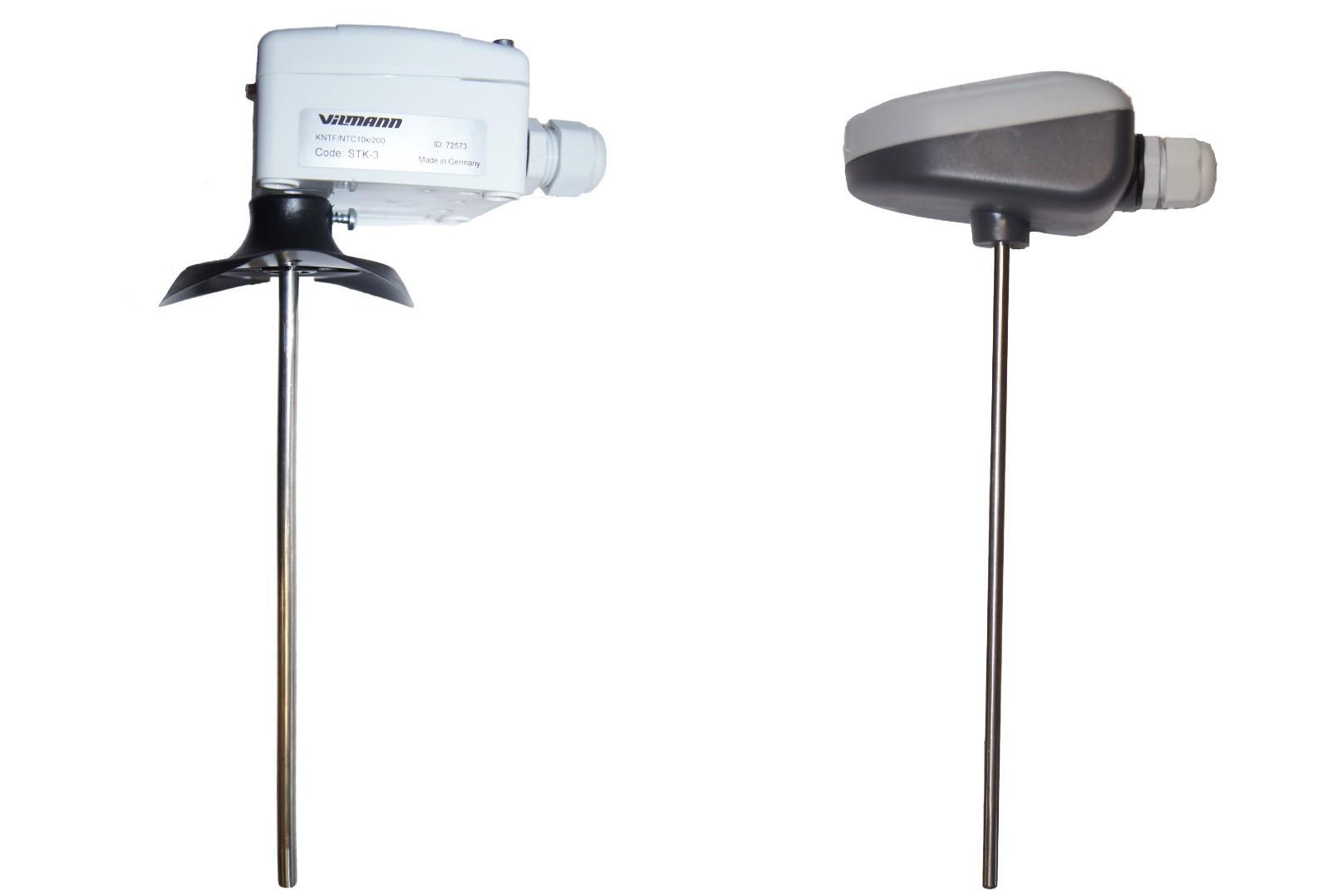 Датчик температуры канальный STK-3M