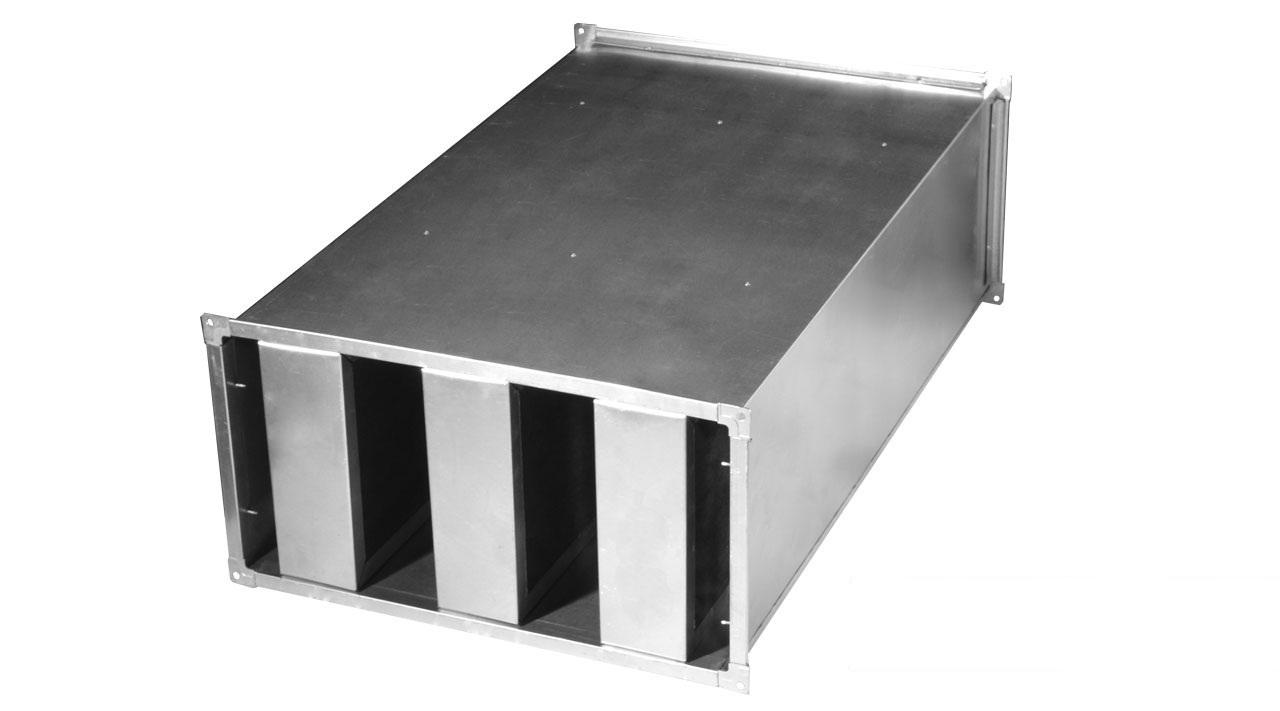 Шумоглушитель RA 80-50 (L 1000 мм)