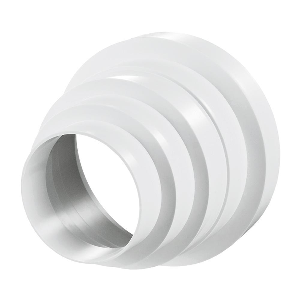 Редуктор для круглых воздуховод пластик D150/125/100/80 ПУ15.12.10.8