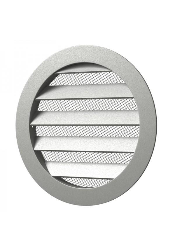 Решетка круглая алюминиевая  с фланцем D200 20РКМ