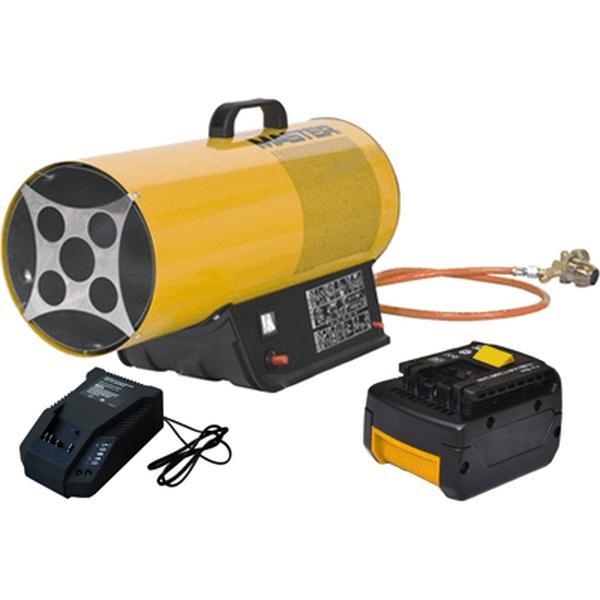 Тепловая пушка газовая Master BLP 17 М (16 кВт) с аккумулятором+зарядное устройство и доп. аккумулят