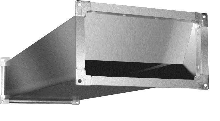 Шумоглушитель SRr 500x300/1000