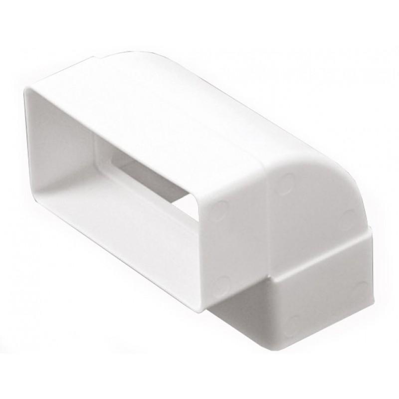 Колено  вертикальное пластик 90 град 60х204 ЭРА (620КВП)