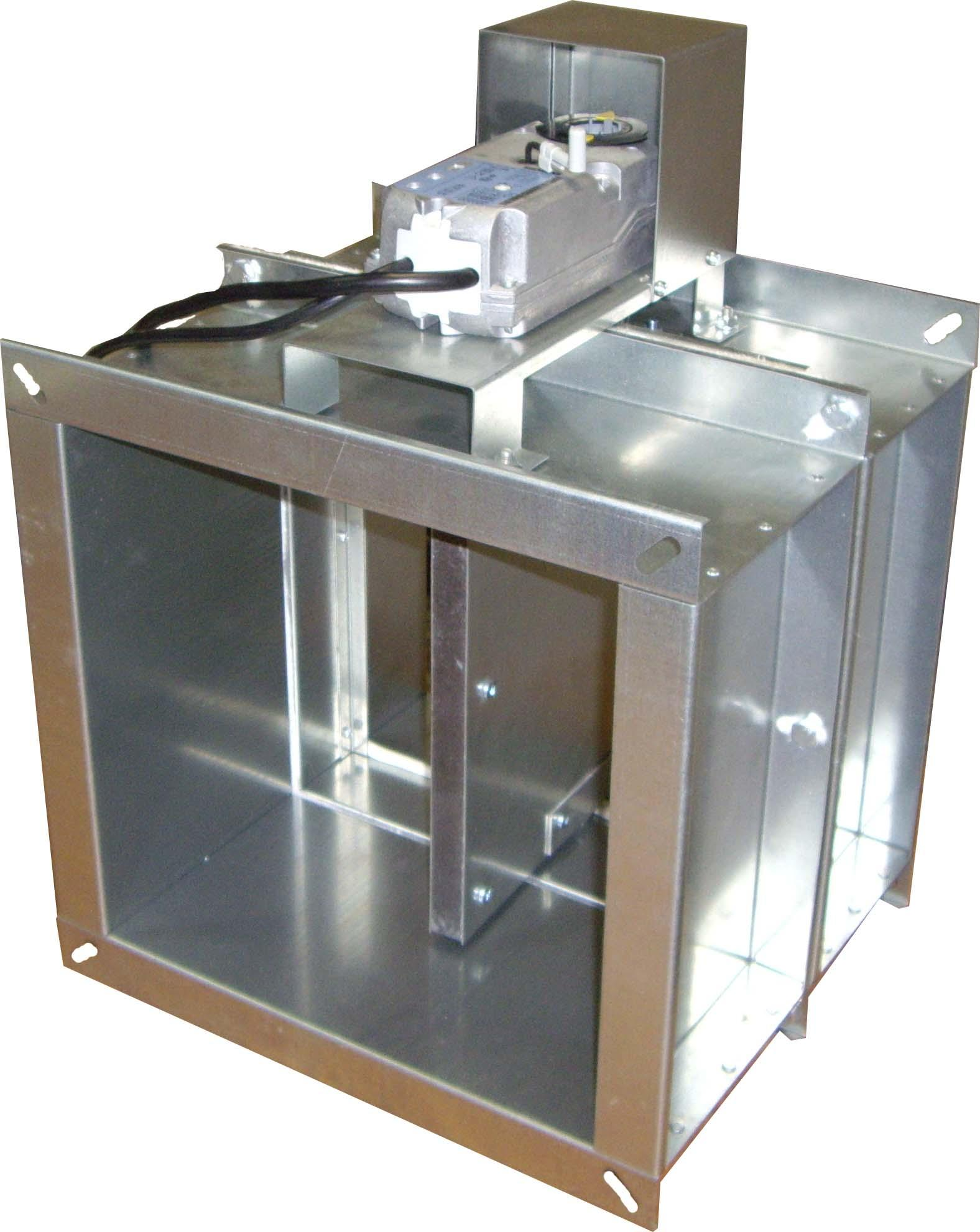 Клапан КПС-1м(90)-НО-MS(220)-300х300