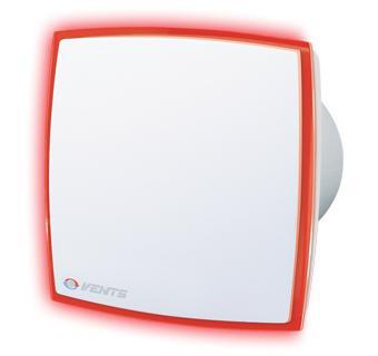 Вентилятор Вентс 100 ЛД Лайт красный (100 LD) (150х150)