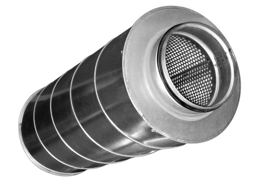 Шумоглушитель SCr 100/600