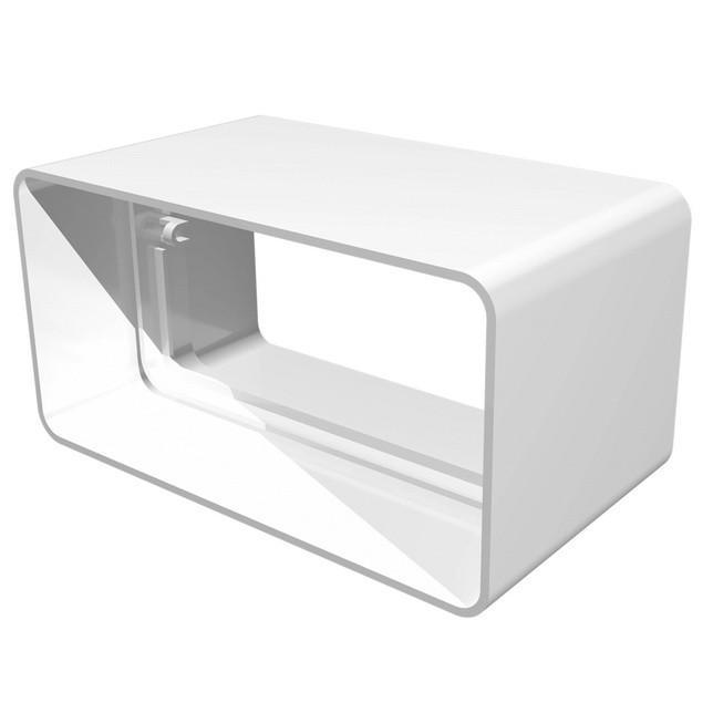 Соединитель пластик 60х120 Эра (612СКП)