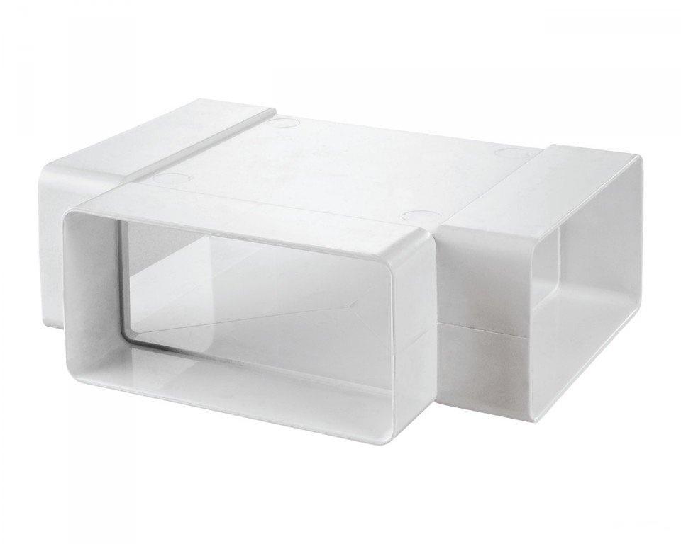 Тройник Т образный пластик 60х120 (612ТПП)