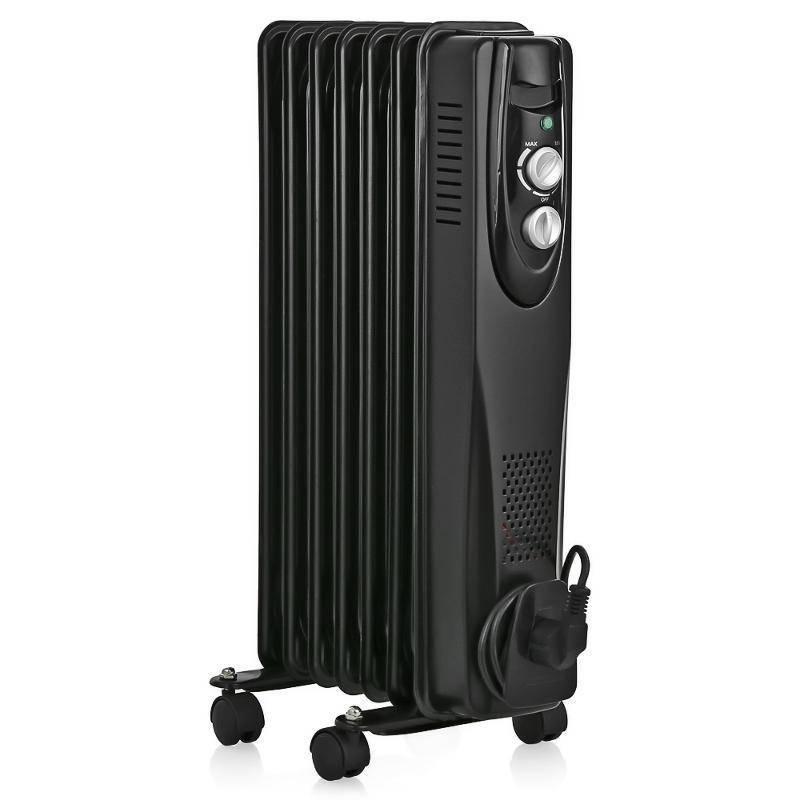 Масляный радиатор Ballu BOH/CL-07BRN 1500 (Classic black 7 секций) черный