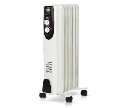 Масляный радиатор Ballu BOH/CL-11WRN 2200 (Classic 11 секций) белый