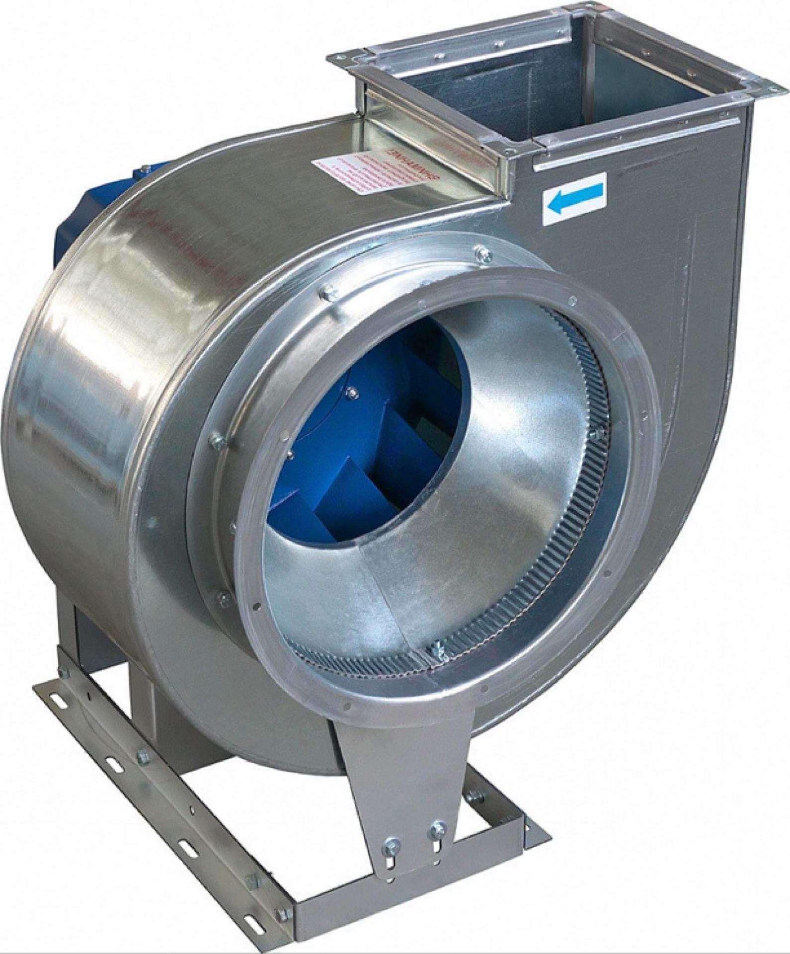 Вентилятор ВР-86-77-6,3 5,5 кВт*1500 об/мин ЛО (Д=0,9Дн)