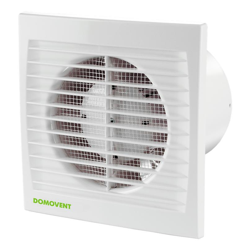 Вентилятор Домовент 100 С (100 S) (150х150)