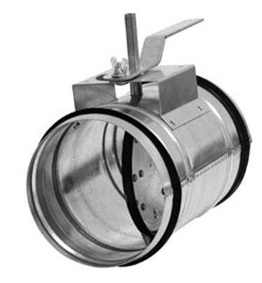 Воздушный клапан КВК 100М1 (под привод)