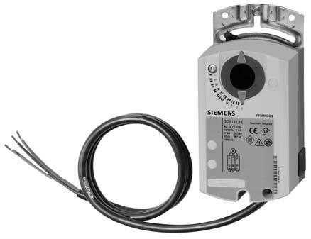 Эл.привод воздушной заслонки Siemens GDB 131.1E ( 5 Нм) 24 V