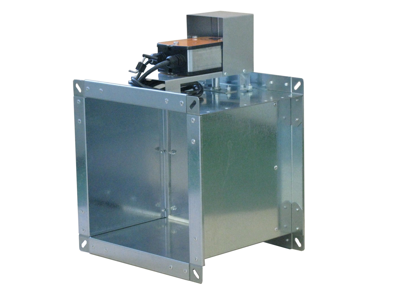 Клапан КПС-1м(60)-НО-МВ(220)-100х100