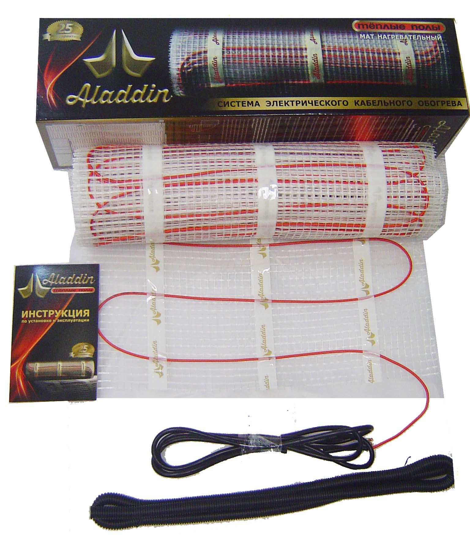 Нагревательный кабель ALADDIN HMT-8,0-1200 Ватт