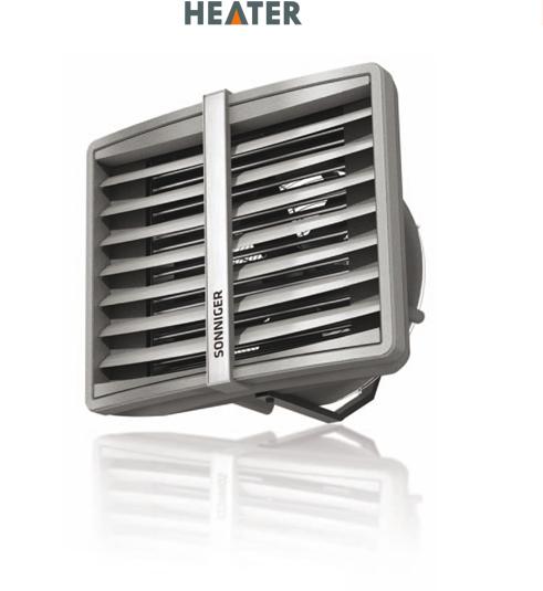 Воздухонагреватель AERMAX с водяным нагревом HEATER ONE с консолью (MINI)