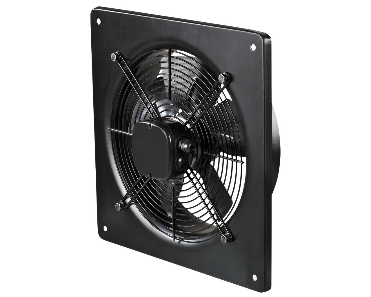 Вентилятор осевой на пластине AXW 250-В-2Е (черн.)