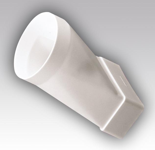 Соединитель эксцентрик плоск. воздухов.с круглым. 60х120/D100 (612СП10КП)