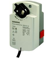 Эл.привод воздушной заслонки Siemens GSD 321.1А (2 Нм), 230В, 2-х позиционный